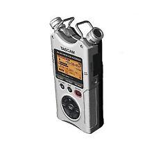 TASCAM Dr 40 Silver 4-track Portable Digital Recorder