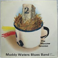 Muddy Waters Blues Band THE WARSAW SESSION - Vinyl LP Near Mint