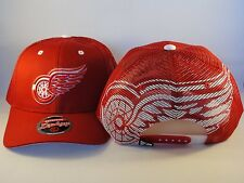 NHL Detroit Red Wings Trucker Snapback Hat Cap Zephyr Screenplay