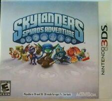 Skylanders Spyro's Adventure Nintendo 3DS Video Game Only 2011