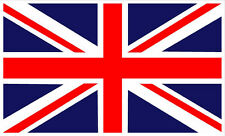 "#799 (2) Union Jack Land Range Rover 2"" GB Flag Decal  Vinyl Outdoor LAMINATED"