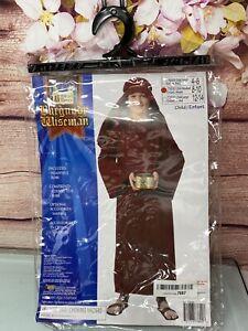 Forum Novelties Biblical Times Shepherd Burgundy Costume Robe, Child Medium 8-10