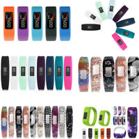 Colorful Silicone Replacement Wrist Band For Garmin Vivofit 3 / JR Smart Watch