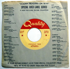 FIREBALLS 45 Torquay Two / Peg Leg ROCK N ROLL Instr CANADA PRESS Quality w3789