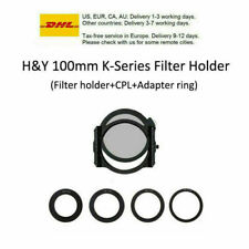 H&Y Filters 100mm K-Series Square Filter Holder Kit (Filter Holder +CPL)