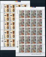 Zypern Kleinbögen MiNr. 566-67 postfrisch MNH Cept (CB294
