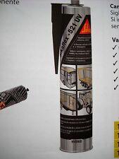 NUOVO SIKAFLEX-521 UV CARTUCCIA 300 ML COLORE BIANCO  CAMPER-CARAVAN-NAUTICA