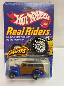 1982 Hot Wheels Real Riders Originals 40's Woodie