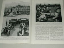 1945 NANCY, FRANCE magazine article, just after liberation WWII