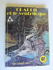 BD adulte Elvifrance   Charlie et le ventriloque   dos blanc et bleu