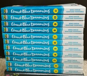 Grand Blue Dreaming Vol 1-11 English Manga **New**