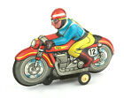 AMB Marchesini (Italy) Tinplate Friction Drive Racing Motorcycle RN12