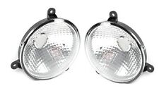 Freightliner Century 2005+ Headlights Lamp Chrome Pair Driver & Passenger Side