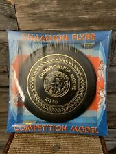 Vintage Frisbee Champion Flyer Competition Model Frisbee