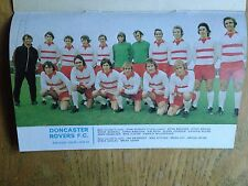 Doncaster Rovers 1972/73 team picture