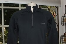 PATAGONIA - Mens Black Forest Fleece Half Zip Pullover-                  SMALL-
