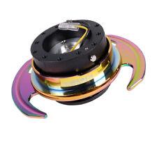 NRG Steering Wheel Quick Release Neochrome SRK-650BK-MC