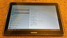 "Samsung Galaxy Tab 2 Android Tablet 10.1"" SPH-P500 8GB WiFi+4G (Sprint) Titanium"
