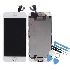 USA White LCD Display + Touch Digitizer + Home Button + Camera for iPhone 6 4.7""