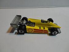 Loose Hot Wheels Yellow Shell Formula Racer w/Blackwall Wheels Mint