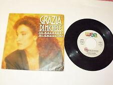 """GRAZIA DI MICHELE """"LE RAGAZZE DI GAUGUIN"""" disco 45 giri WEA Italy 1986"""