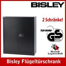 10er Set Stahlschränke BISLEY 1950x914x400 mm NEUWARE!!