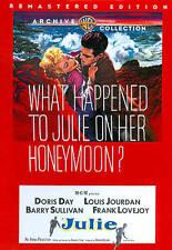 Julie  (Remastered), Good DVD, Frank Lovejoy, Barry Sullivan, Louis Jourdan, Dor