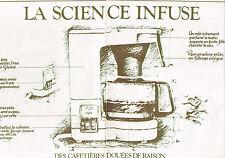 PUBLICITE  1979   KRUPS    cafetière (2 pages)