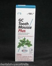 GC Tooth Mousse Plus  sensitivity wine tasting erosion bad breath tooth decay M