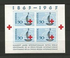 Suisse 1963 Croix-Rouge un feuillet non dentelé neuf sans charnière MNH / T6555