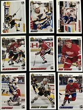 1991-92 UPPER DECK Hockey Cards.  Card # 251-500.  You Pick to Complete Your Set