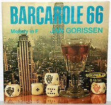 "7"" Vinyl JAN GORISSEN - Barcarole 66"