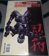 Snake Eyes Cobra Civil War #3 VF-NM IDW Uncertified
