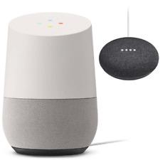 Google Home Mini Charcoal with Google Home White