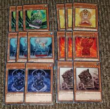 YUGIOH MAGO BARRIER STATUES ABYSS ,DROUGHT, TORRENT, INFERNO, HEAVEN, STORMWINDS