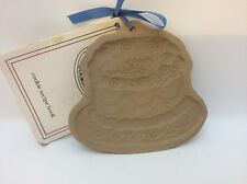 Brown Bag Cookie Art Happy Birthday Cake Mold Press 1986 Unused W/ Recipies