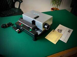 LIESEGANG Diaprojektor A33 mit Garantiekarte von 1975 + Bedienungsanleitung
