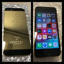 24K Gold Plated Iphone 5S (Unlocked) 16GB - Complete with Iphone Accessories