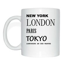 New York, London, Paris, Tokyo, LANDSBERG ON THE WARTHE Cup Of Coffee