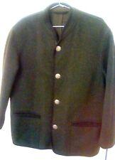 SCHNEIDERS Salzburg Schurwolle Alpaca Vintage MINT Olive Coat RARE COIN Buttons