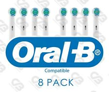 ORAL B Braun Electric Toothbrush Heads Compatible Replacement Head 8 PACK