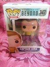 Funko Pop! Captain Kirk #349 free pop protector. Star Trek Beyond