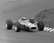 1967 Driver JIM CLARK Glossy 8x10 Photo Formula 1 Grand Prix Poster 1st Place