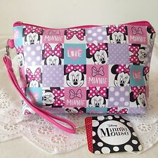 DISNEY MICKEY MOUSE Cosmetic Make Up Bag Accessory Pencil Case w 20 x h 12 cm.