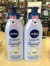 Nivea Body Lotion, Coconut & Monoi Oil Infused, 24 Hr Moisture, 16.9 oz.
