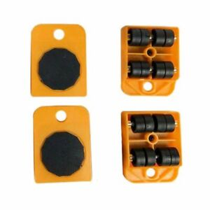 Heavy Duty Furniture Lifter Transport Tool Furniture Mover set 4 Move Roller Pad