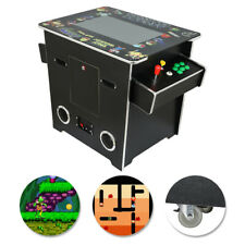 2 Sided Cocktail Arcade Machine with 60 Games Mr. Do, Pacman, Galagal