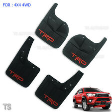 Front Rear Mud Guards Trd Sport For Toyota Hilux Revo 4WD 4x4 4Dr 2015 2017