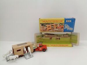 Lesney Matchbox KING SIZE K-18 'ARTICULATED HORSE VAN'--see photos & more K-size