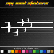X-Wing Fighters Vinyl Sticker Decal for car, ute, truck,window Star Wars